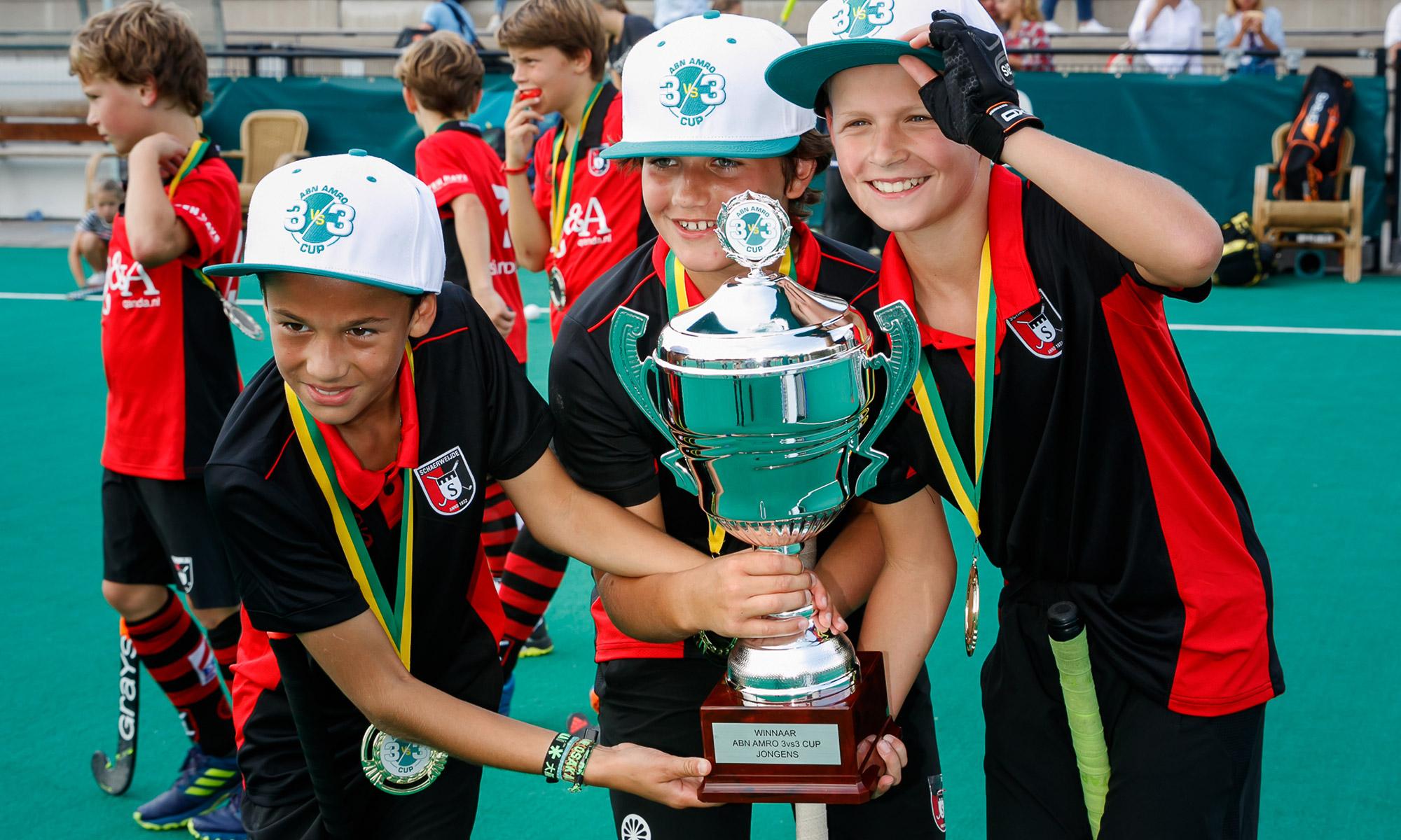Winnaars ABN AMRO 3vs3 Cup