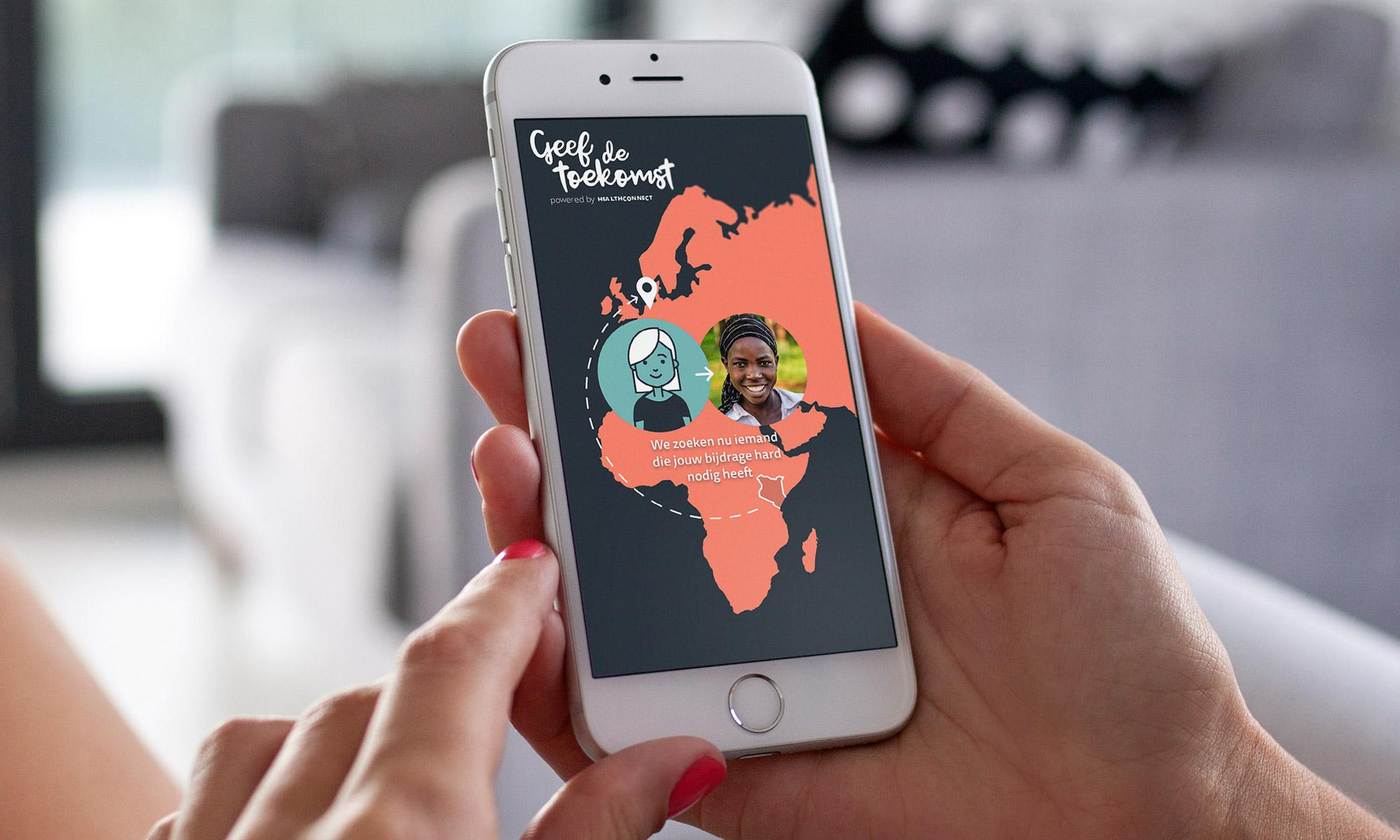 App maakt connectie tussen Nederland en Kenia