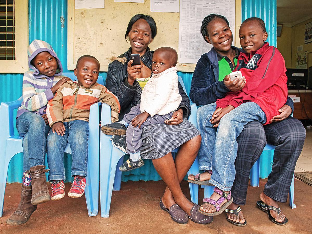 Slum in Nairobi (Kenia)